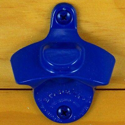 Blue BOTTLE CAP MOUNT Starr X Wall Mount Bottle Opener - Powder Coated - NEW!