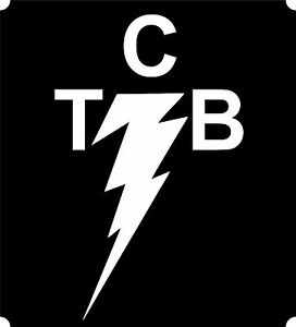 Elvis-TCB-Taking-Care-of-Business-White-Decal-Sticker-Colour-Choice