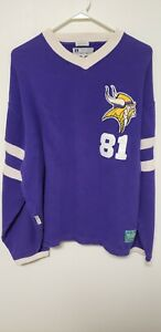 Vintage Carl Eller Minnesota Vikings #81 Mirage 1995 Throwbacks Hall Of Fame