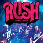 Rush 2017 Wall Calendar by Aquarius