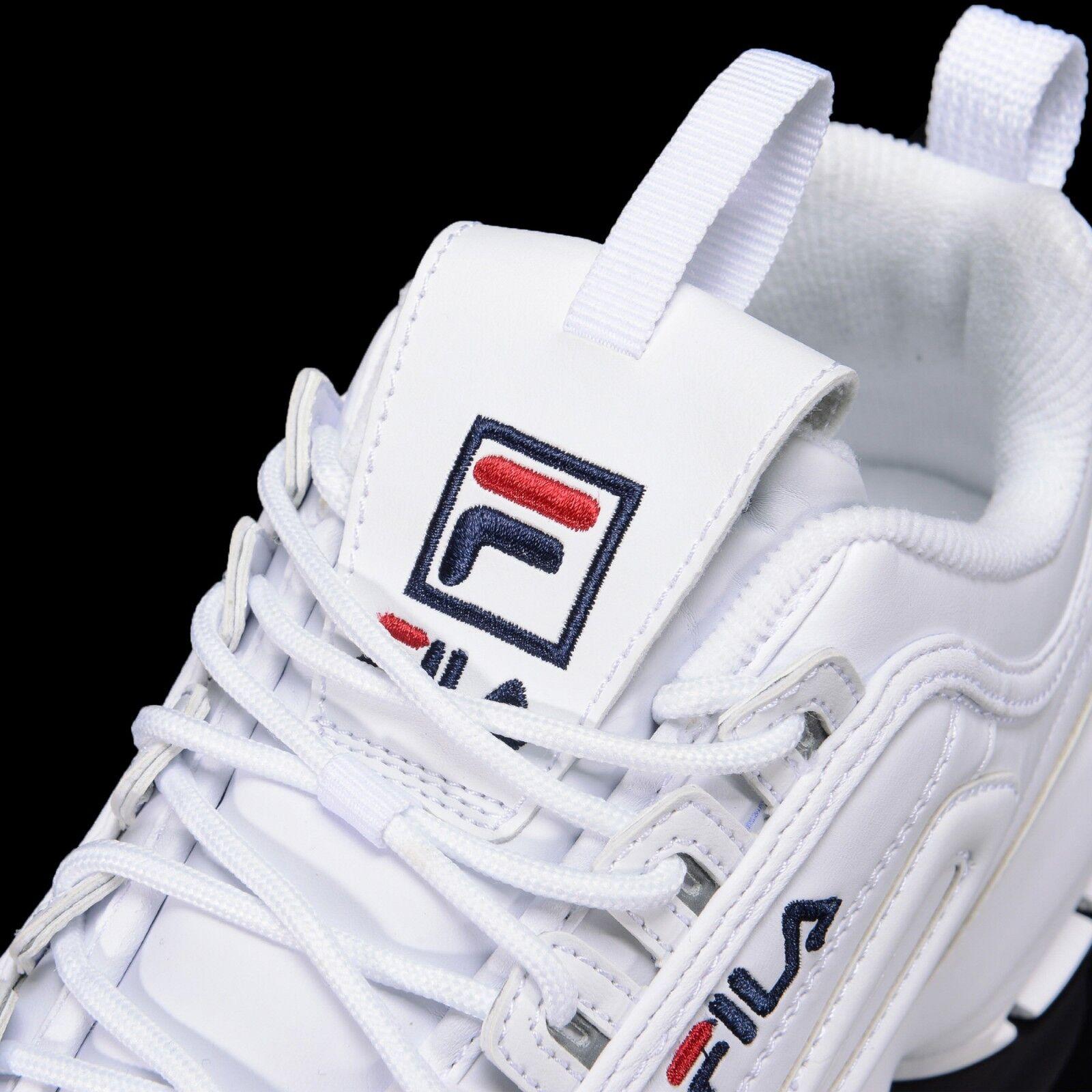 FILA Disruptor II 2 Größe Weiß Authentic Schuhes Unisex Größe 2 US 4-11 FS1HTA1071X_WWT 95ea96