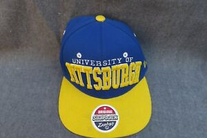 low priced 72124 d5eaa Image is loading PITT-PANTHERS-University-of-PITTSBURGH-Zephyr-HAT-Snapback-