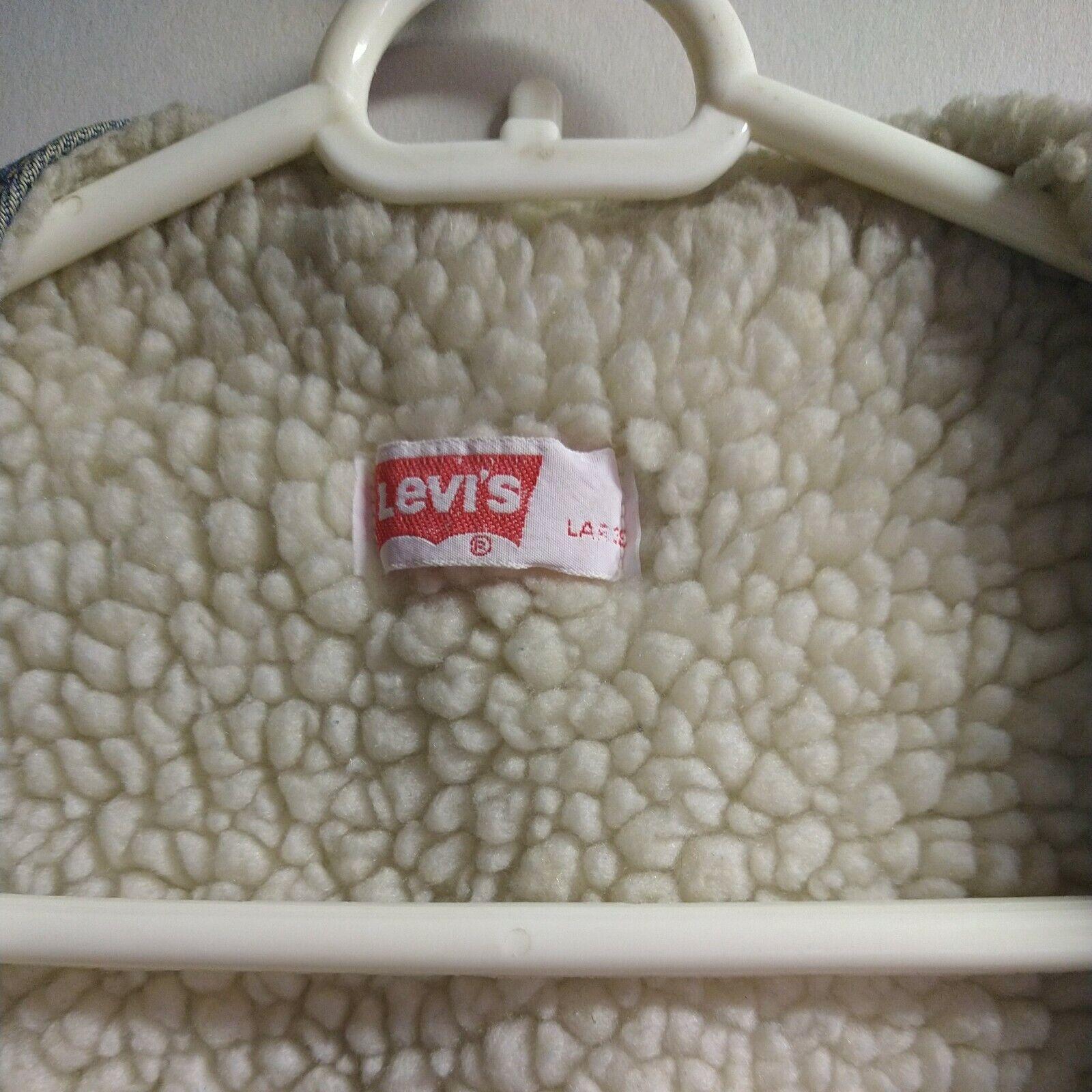 Levis vintage clothing Vest made in USA - image 4