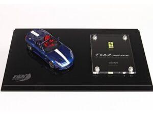 Modèles Bbr 1/43 Ferrari F60 America Boîte Spéciale Modèle Bleu Nart