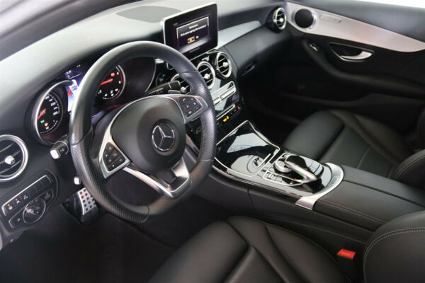 Mercedes C250 d 2,2 AMG Line stc. aut. 4Matic billede 5