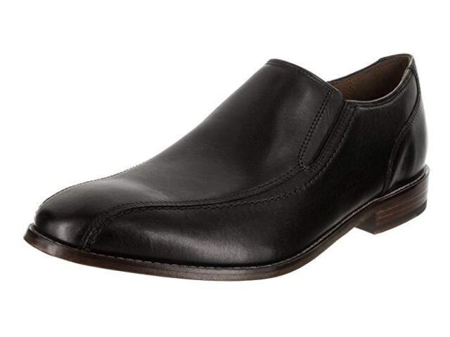 7b06108222 Buy Clarks Mens Shoes Ensboro Step Bostonian Black Leather Ortholite ...