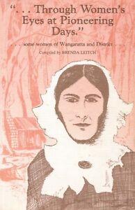 Through-Womens-Eyes-at-Pioneering-Days-BOOK-Wangaratta-History-Victoria