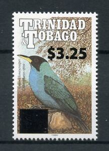 Trinidad-amp-Tobago-2018-neuf-sans-charniere-vert-Honeycreeper-3-25-Ovpt-1-V-Set-Oiseaux-Timbres