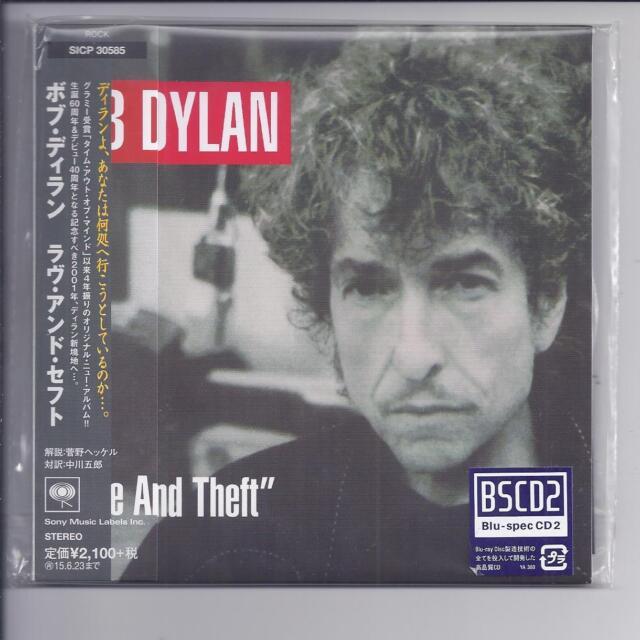 BOB DYLAN Love And Theft JAPAN mini lp cd Blu-spec CD2 / BSCD2 / SICP-30585 NEW