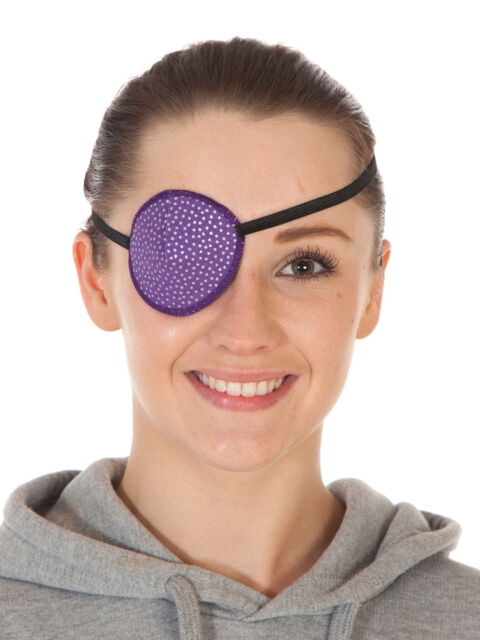 Eye Patch, SILVER SPOTS, Soft and Washable, Sold to the NHS