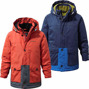 70b95fe3c Craghoppers Scotton Parka Boys Waterproof Insulated