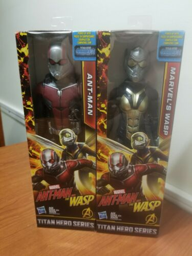 Details about  /Ant-Man and The Wasp Marvel Titan Hero Series Hasbro Action Figure Bundle  New