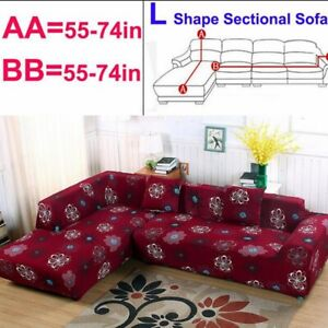 Remarkable Details About Sofa Slipcover Protective Couch Cover For L Shape Sectional Corner 55 74In Pdpeps Interior Chair Design Pdpepsorg