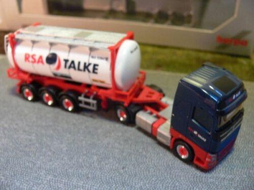 1//87 Herpa Volvo FH Gl Swapcontainer-Sattelzug RSA Talke 917834