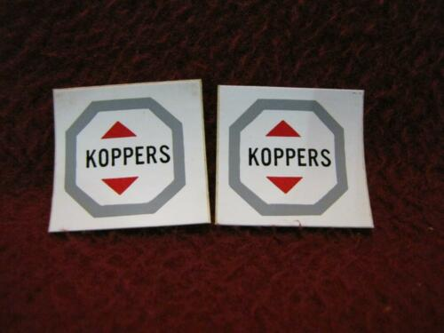 S AMERICAN FLYER 2 DECAL SHEETS FOR 912 KOPPERS TANK CAR