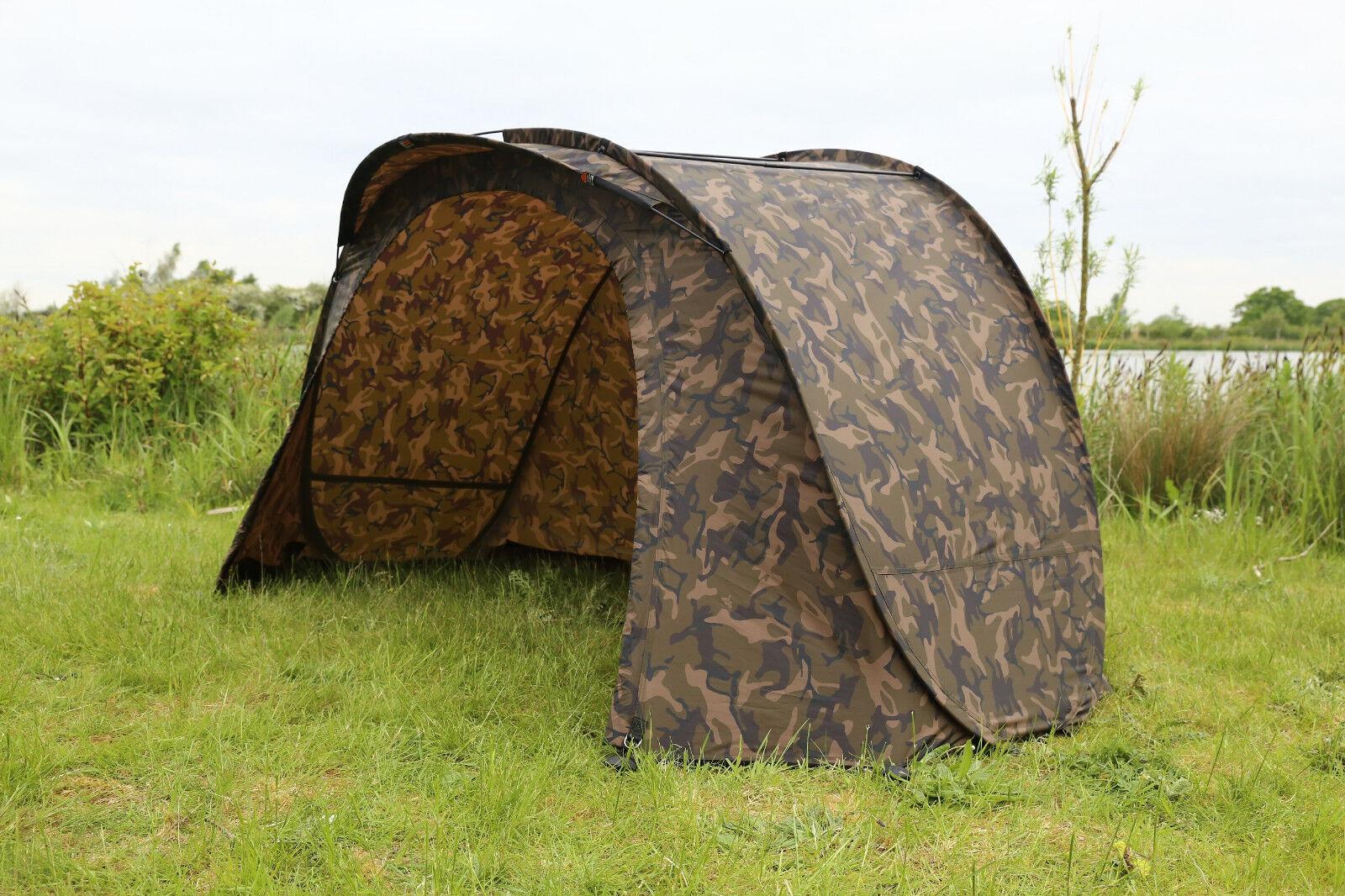 Fox EASY Shelter CAMO cum187 Ruck Zuck Tenda Tenda Tenda Tenda Angel tenda autopa TENDA Tent Bivvy c21