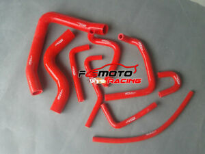 Red-For-Mitsubishi-Pajero-NH-NJ-V6-3-0-6G72-91-96-Silicone-Heater-Radiator-Hose