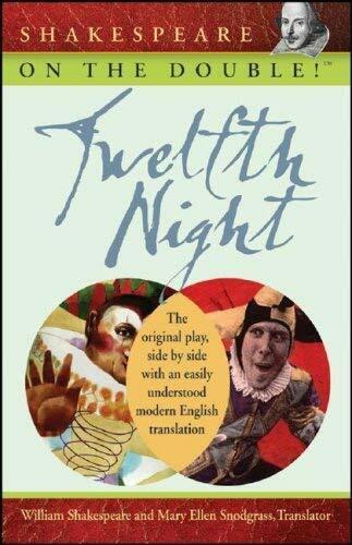 Shakespeare On The Double! Twelfth Night von Shakespeare, William