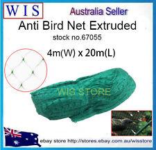 Diamond Green Anti Bird Net,PE Extruded Anti Bird 4m x20m per Roll-67055