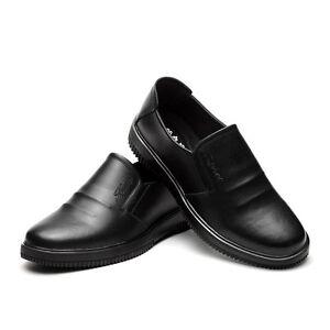 new men work shoes hotel restaurant nonslip working shoes