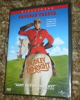 Dudley Do-right (dvd, 1999),new & Sealed,wide & Full Screen Versions, Region 1