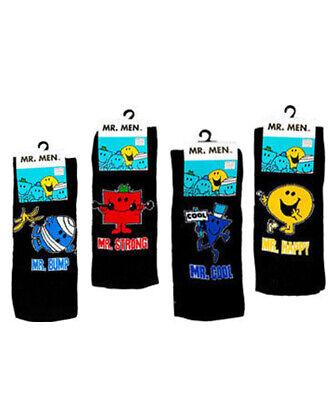 3 Mens Mr Men 100/% Official Cartoon Novelty Character Socks UK 6-11