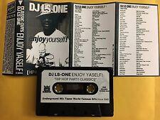 DJ LS One Tape Kingz Enjoy Yourself Hip Hop Party Classics 90s Mixtape Cassette