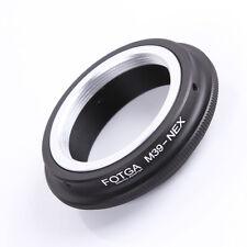 Fotga Leica M39 Lens to Sony NEX NEX-C3 NEX-5N NEX-VG10 NEX7 NEX5 E Adapter Ring
