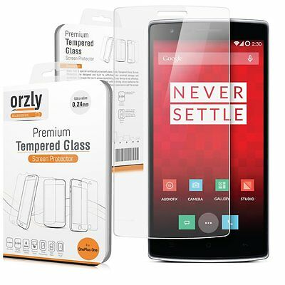 Orzly® OnePlus TWO / OnePlus 2 Premium Tempered Glass 0.24mm Screen Protector