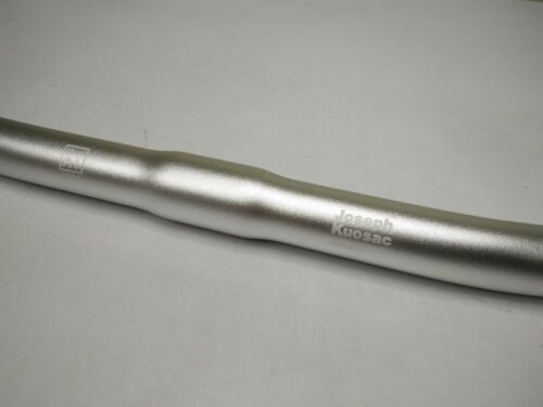 Joseph Kuosac Ergonomic Handlebar for Bromptons Flat 25.4mm Silver