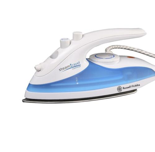NEW Mini Compact Portable Travel Iron SteamGlide RHobbs 760W Stainless Soleplate