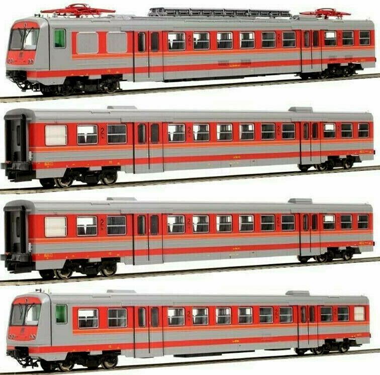Oskar 2073 FS Set. Elettromotrice ALe 642n°2 Le 764n°1 Le 682, Livrea origine