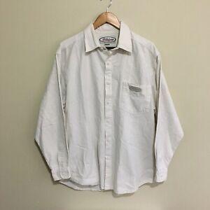 Billabong-Vintage-90-039-s-Surfwear-Linen-Button-Front-Shirt-Mens-Medium