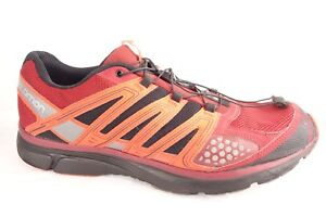 Details about Salomon X MIssion 2 Mens Shoes Size 12.5 Trail Running Hiking Red Orange