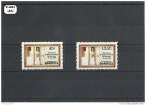 112014/1182 - Dominique 1980 - Yt N° 656/657 ** (mnh) Luxe Avoir Une Longue Position Historique