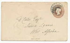 GREAT-BRITAIN-Postal-Stationery-1902-to-West-Africa