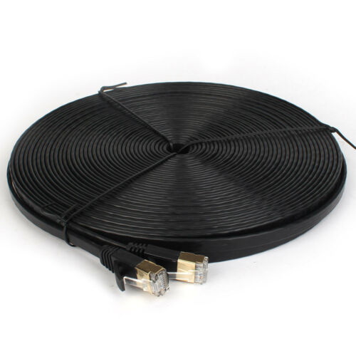 US-100ft 50ft 25ft 10ft 6ft Ethernet Cable Cat7 Cat-7 Cat 7 Network Lan Cord lot