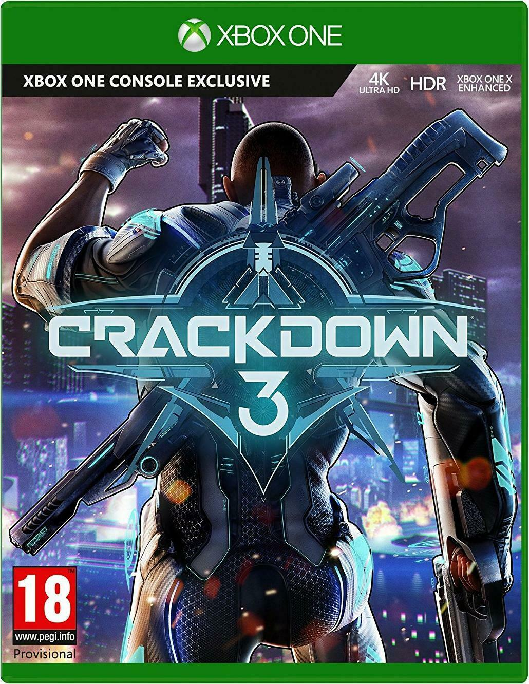 Crackdown 3 for Microsoft Xbox One Video Game