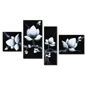 Large original hand paint oil painting canvas wall art decor black image is loading large original hand paint oil painting canvas wall mightylinksfo