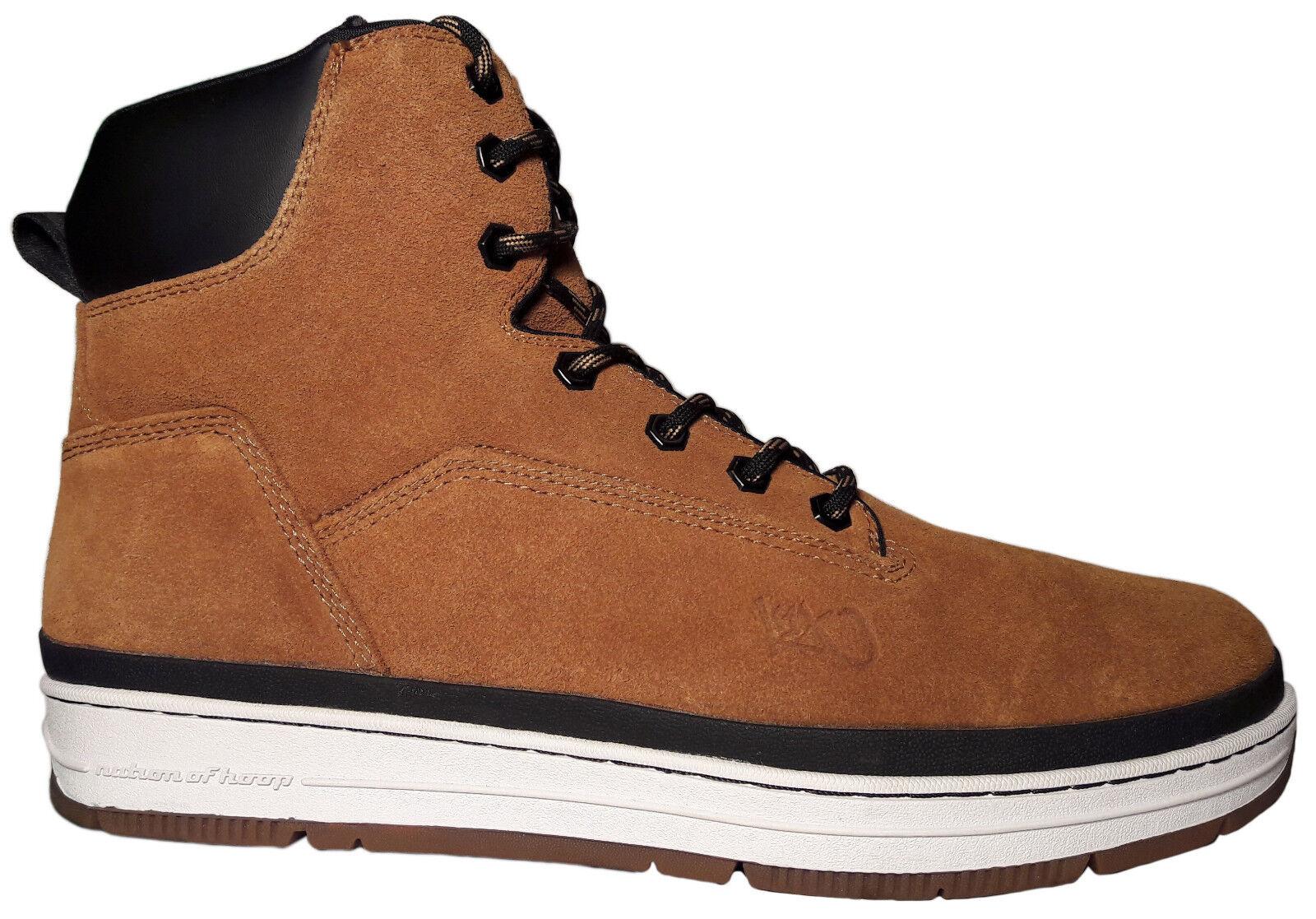 K1X State Sport Herren High-Top Sneaker Gr. 46,5 honey Leder Schuhe Stiefel dark honey 46,5 e39222