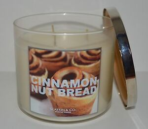 NEW-BATH-amp-BODY-WORKS-CINNAMON-NUT-BREAD-SCENTED-CANDLE-3-WICK-14-5-OZ-LARGE-HTF