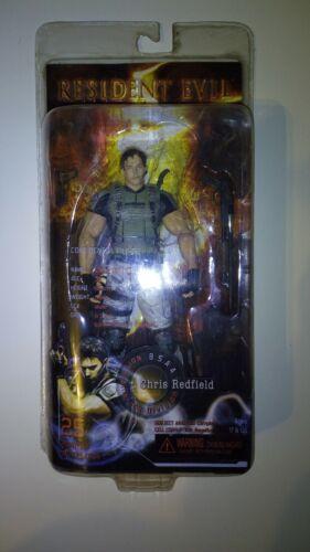 Vintage Resident Evil 5 Figur Chris Redfield Figur von NECA #Neu und OVP# RaR