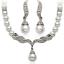 Fashion-Women-Rhinestone-Crystal-Choker-Bib-Statement-Pendant-Necklace-Chain-Set thumbnail 7