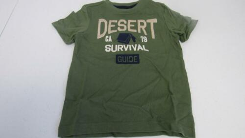 Gymboree Desert Day Camp Green Survival Guide Shirt Size 4 5 6 7 8 NEW
