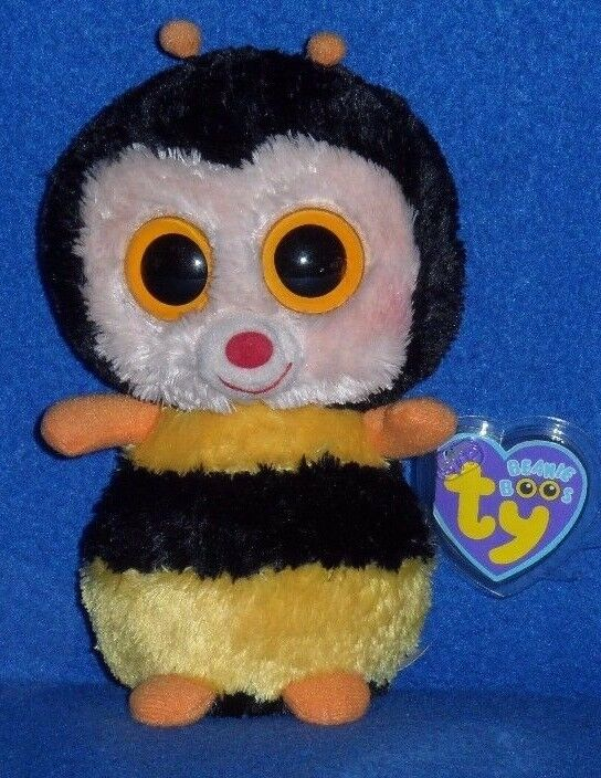 TY BEANIE BOOS - STING the 6  BEE - MINT with MINT TAG