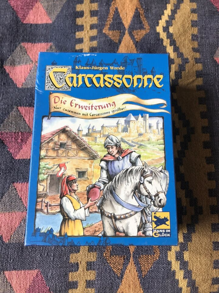 Carcassonne Inns and Cathedrals, brætspil