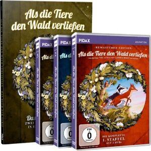 6-DVDs-BUCH-ALS-DIE-TIERE-DEN-WALD-VERLIESSEN-STAFFEL-1-3-IM-SET-NEU-OVP