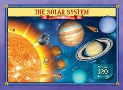 """AS NEW"" The Solar System Lift the Flap Book, Five Mile Press, Book"