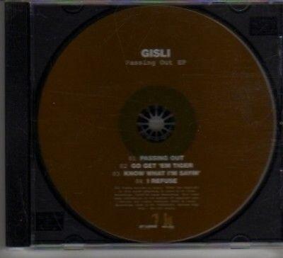 (AX764) Gisli, Passing Out EP - DJ CD