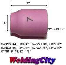 5-pk TIG Welding Ceramic Gas Lens Cup 53N61 #7 Torch 9/20   US Seller Fast Ship